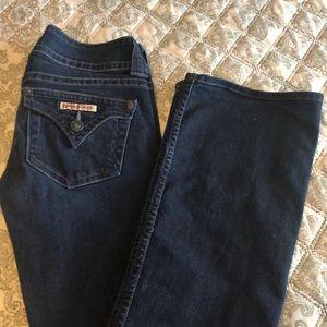 HUDSON Signature Bootcut jeans.